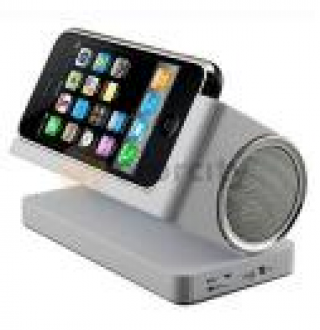 Compact Speaker System for Apple iPhone 3G / iTouch Gen2 - DAPPIPODSPK1 $29.97 shipping $3