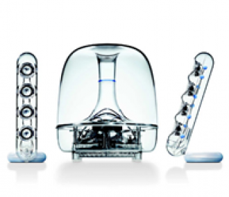 Harman Kardon SoundSticks II 2.1 Plug and Play Multimedia Speaker System:  $99.08 - $10 Drop