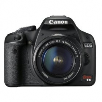 Canon EOS Rebel T1i 15.1 MP CMOS Digital SLR Camera:  $699.00 Delivered