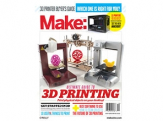Make: Ultimate Guide to 3D Printing is 50% off