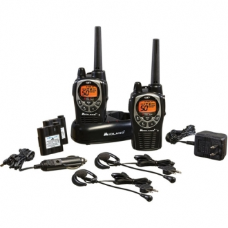 Midland GXT1000VP4 36-Mile 50-Channel Two-Way Radios