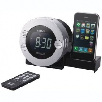 Sony ICF-C7IP Clock Radio for iPod and iPhone:  $62.99 Delivered