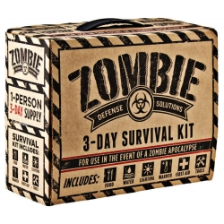 Zombie 3 Day Survival / Disaster Preparedness Kit: $35 bucks (Updated)